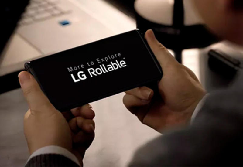 LG представила смартфон-рулон