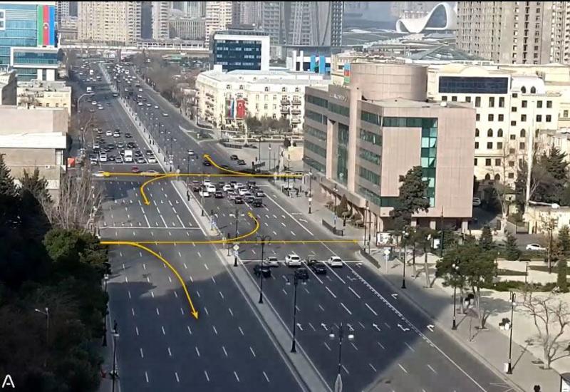 """В Баку создан новый транспортный коридор из """"Белого города"""" в Центральный парк"""
