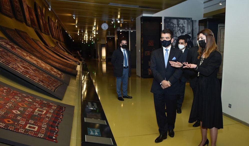 Делегация ИСЕСКО побывала в Азербайджанском национальном музее ковра