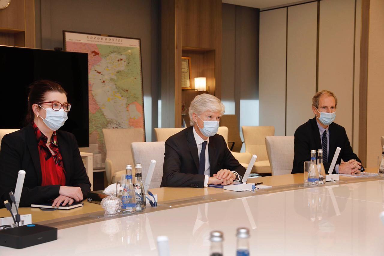 SOCAR и Total обсудили разработку месторождения Абшерон