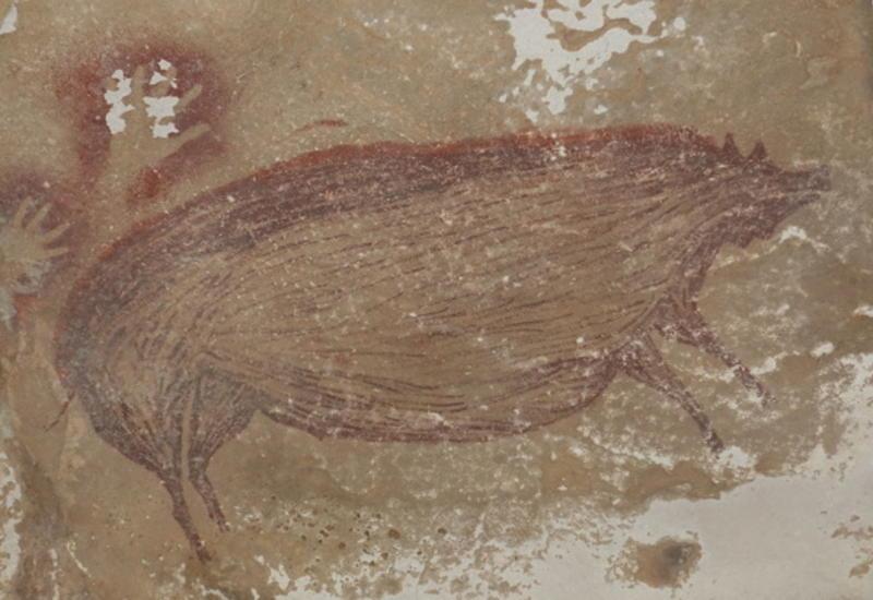 Найдена древнейшая в мире пещерная живопись