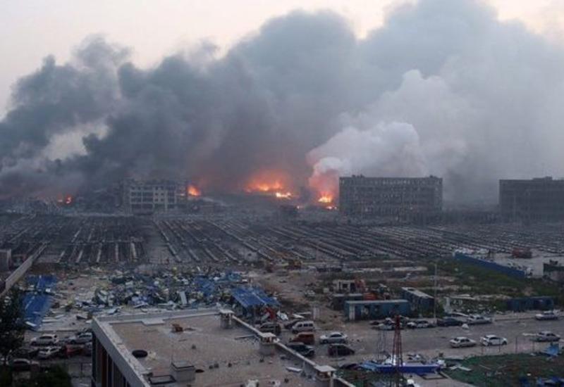 В Китае прогремел мощный взрыв
