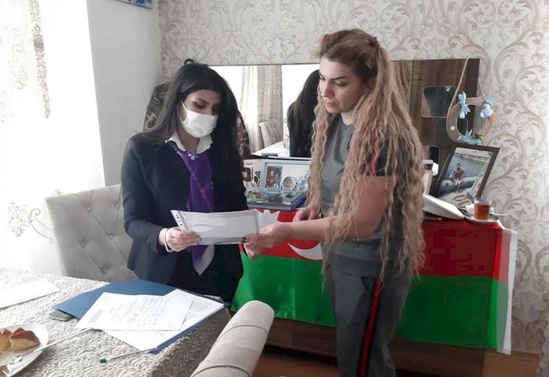 Семьи шехидов получат ежемесячную пенсию Президента Азербайджана