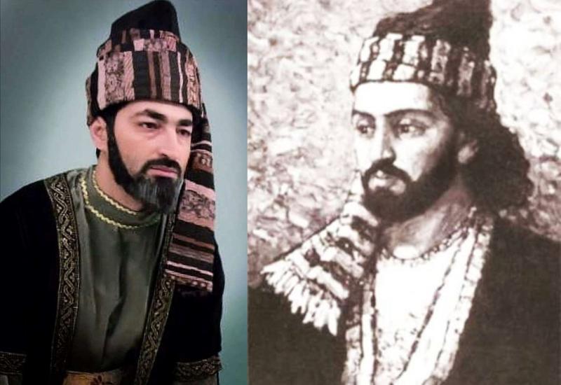 Турал Ахмед в образе Моллы Панаха Вагифа