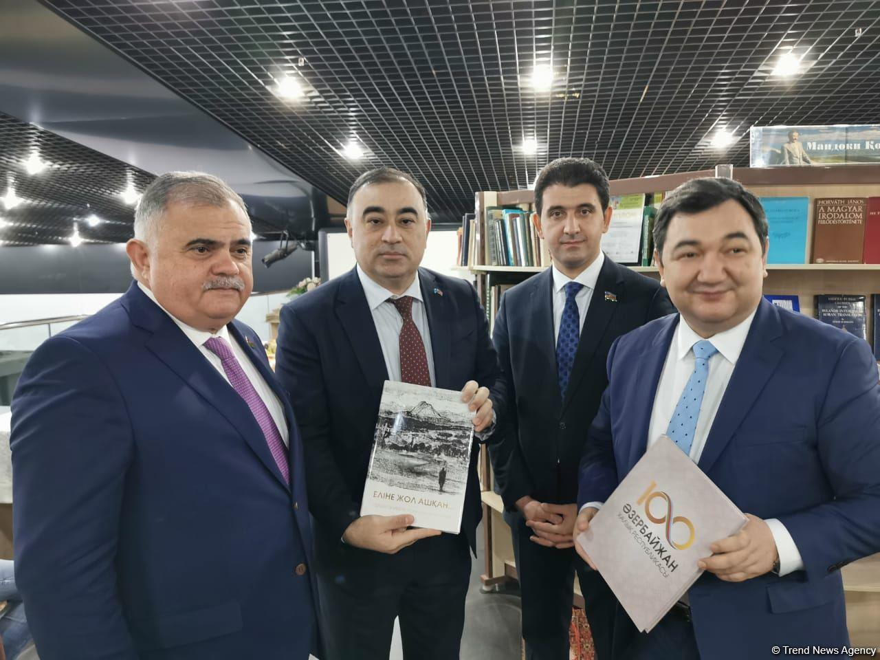 В Казахстане прошла презентация книг о Карабахе