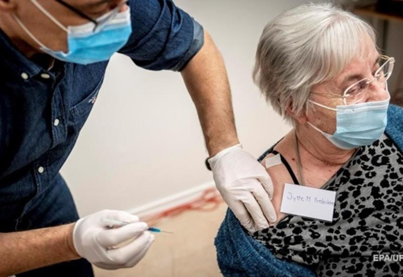 Дания вышла в лидеры в ЕС по вакцинации от COVID-19