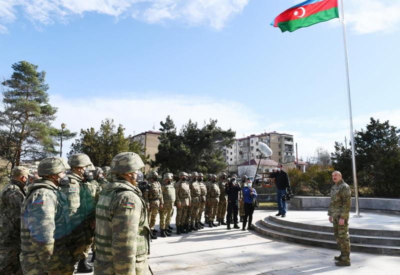 Президент Ильхам Алиев: В мае 1992 года в результате предательства тандема НФА-Мусават Шуша оказалась под оккупацией