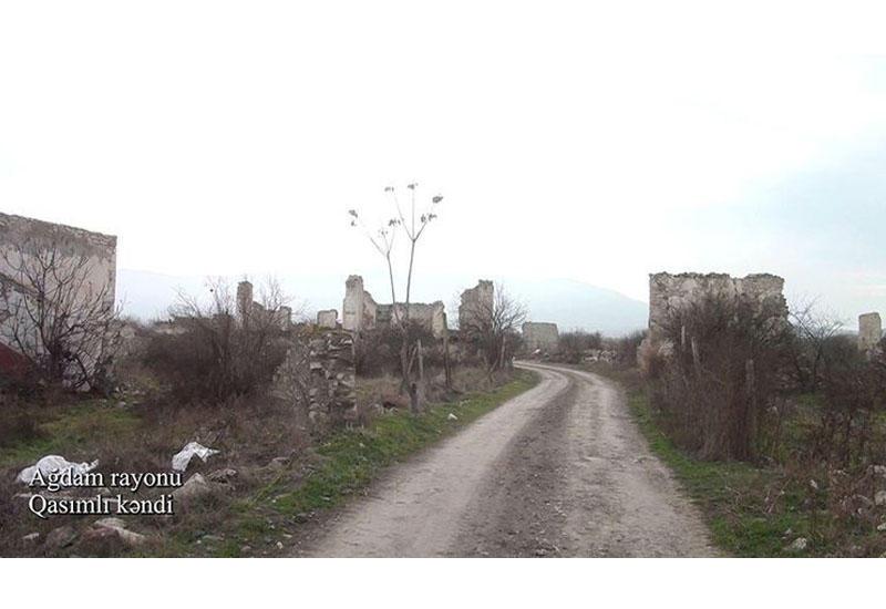 Село Гасымлы Агдамского района