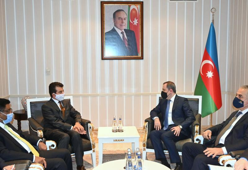 Ceyhun Bayramov ICESCO-nun Baş direktoru ilə görüşüb