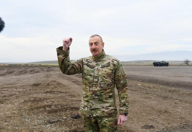 Президент Ильхам Алиев: В ближайшее время мы планомерно обеспечим восстановление Шуши
