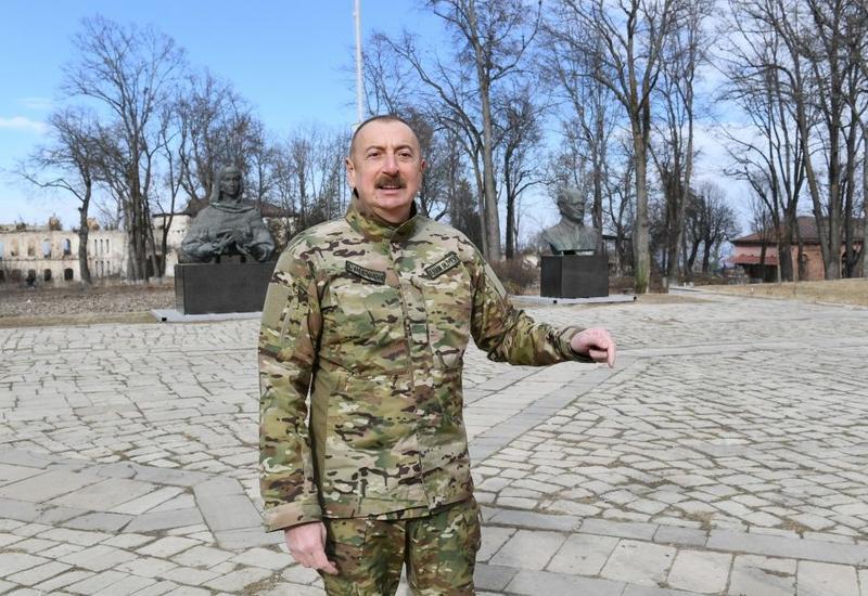 Президент Ильхам Алиев: Большое возвращение начинается, дан старт всем работам