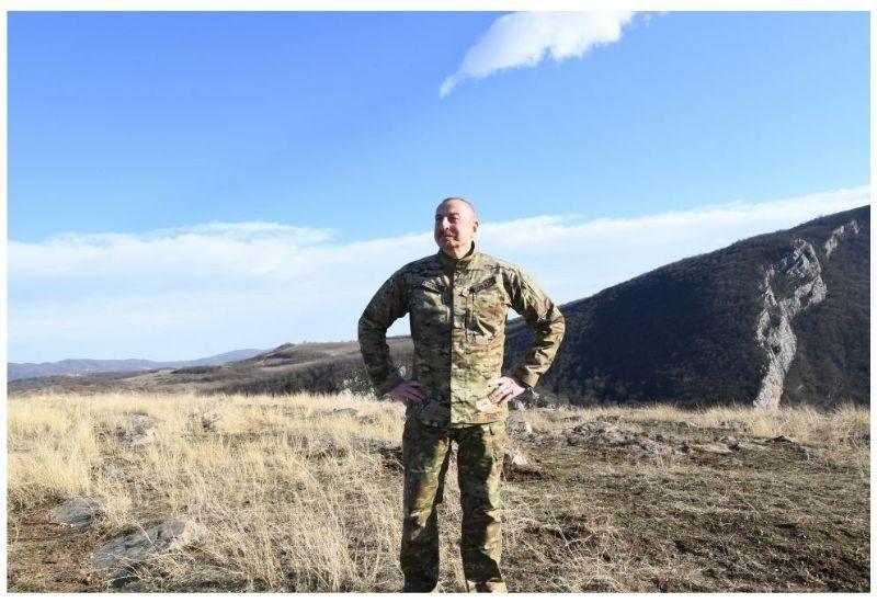 Президент Ильхам Алиев: Подросшее за 17 лет поколение освободило наши земли
