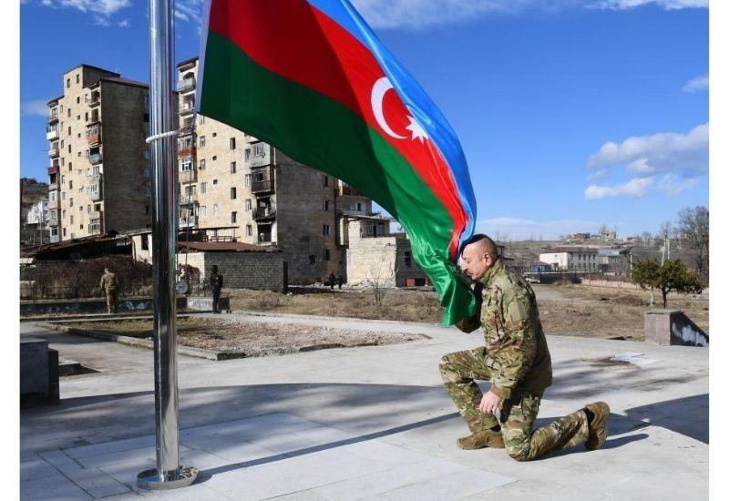 Не передать словами эмоции от кадров, где Президент Ильхам Алиев поднимает в Шуше наш триколор!