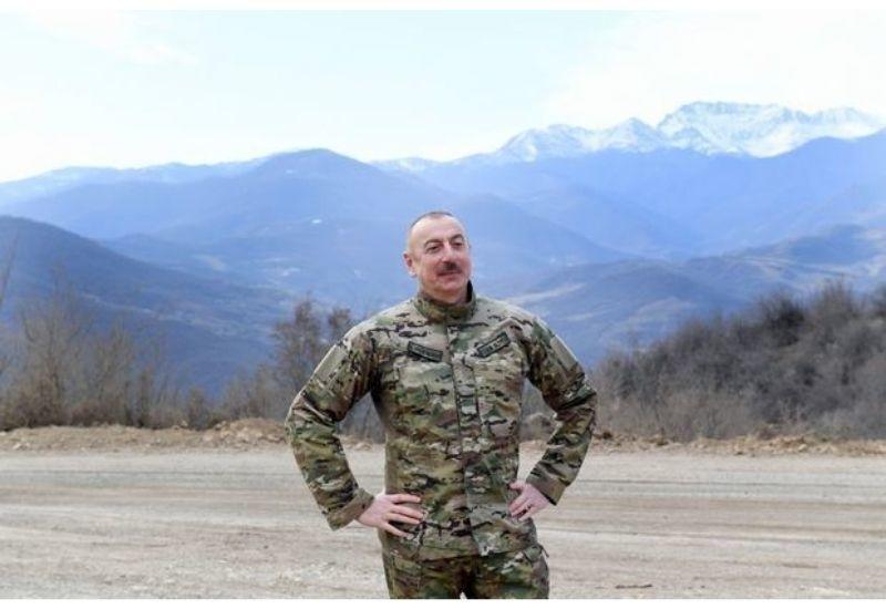 Президент Ильхам Алиев: Всего за два месяца мы открыли дорогу в Шушу