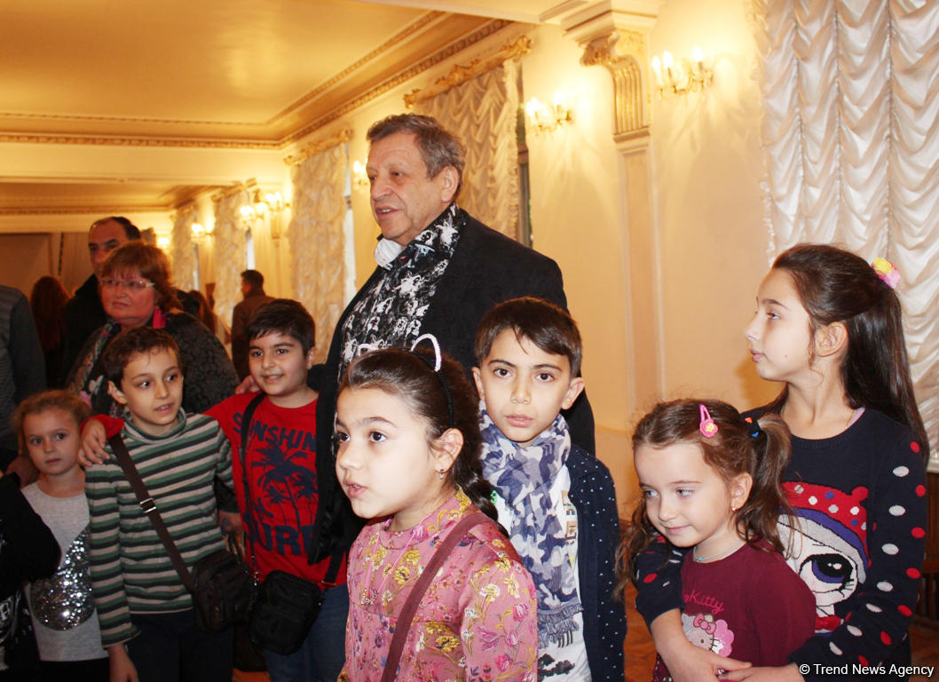 """Первый и последний визит в Баку папы """"Ералаша"""" Бориса Грачевского"""