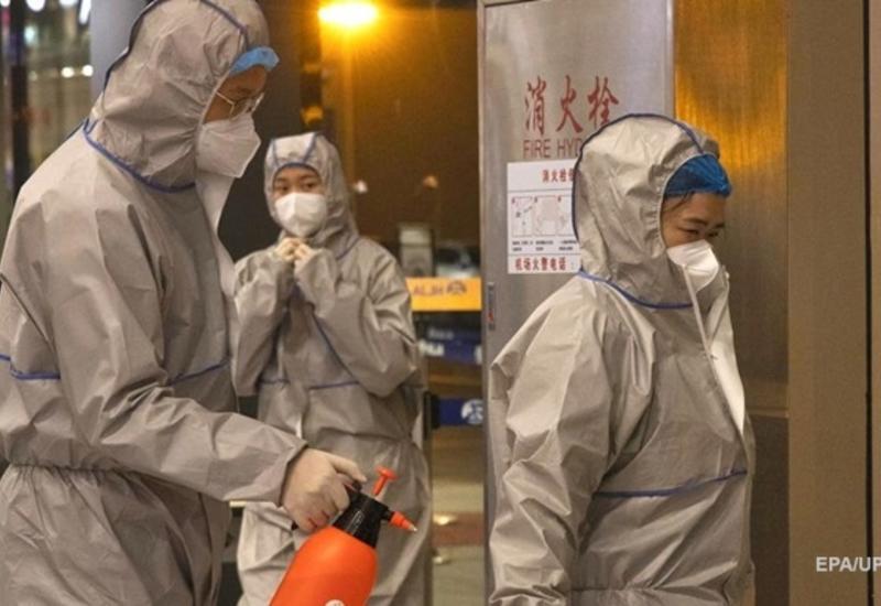 Китай за пять дней построил COVID-госпиталь на 1,5 тысячи палат