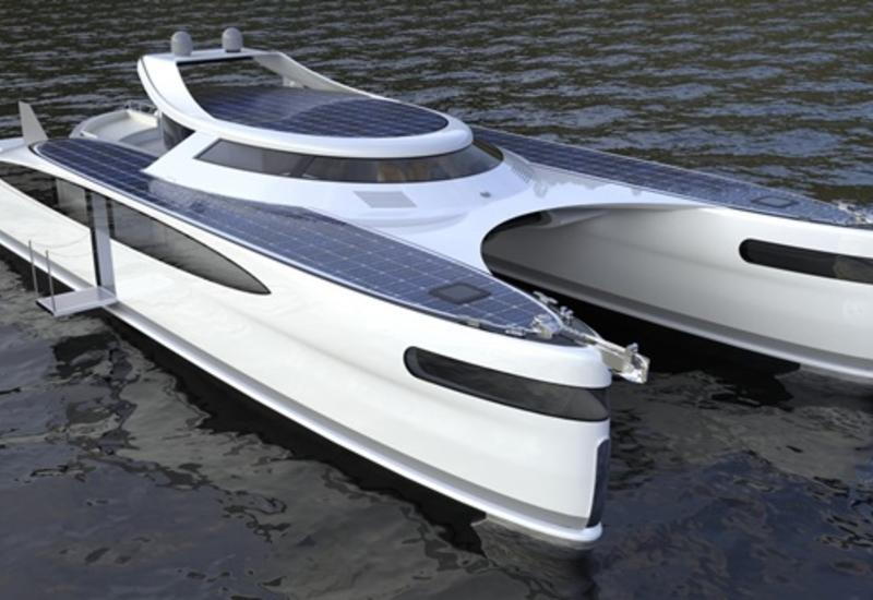 В Италии создают яхту-краба на солнечной энергии