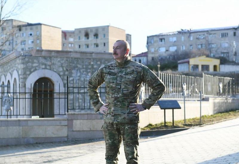 Müzəffər Ali Baş Komandan milli mənəviyyatımızın zirvəsi Şuşada
