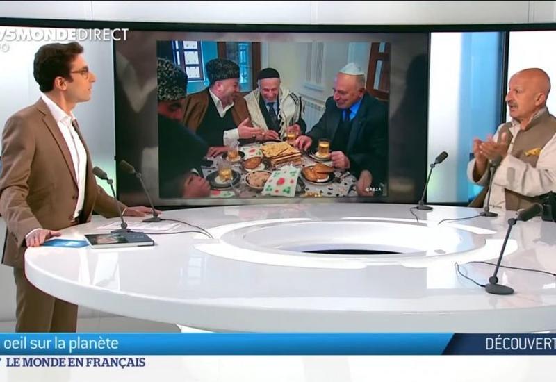 Reza Deqati Fransa kanalında Şuşanın tarixindən, erməni vəhşiliklərindən danışıb