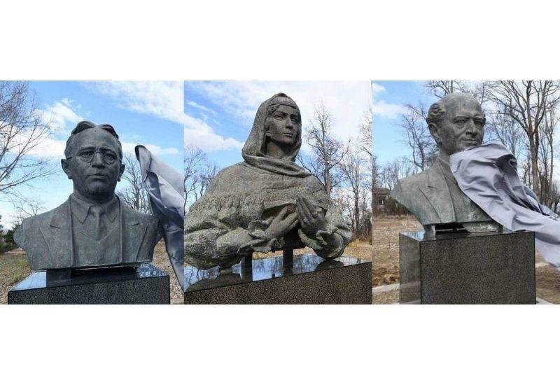 Кто создал памятники Хуршидбану Натаван, Узеира Гаджибейли и Бюльбюля, возвращенные в Шушу