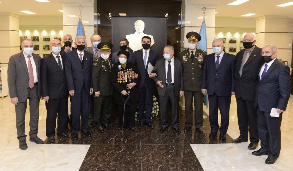 Хикмет Гаджиев принял участие в заседании правления Организации ветеранов республики