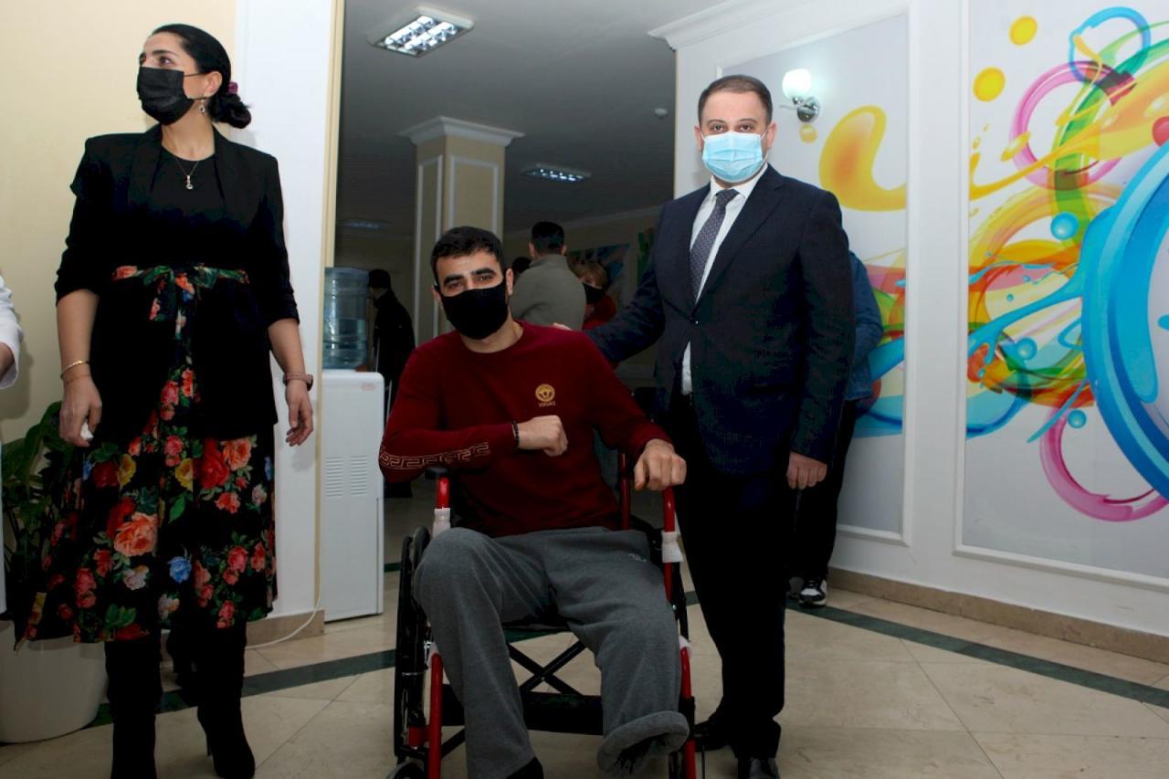 В Азербайджане социально-психологические реабилитационные услуги оказаны 260 раненым в Отечественной войне
