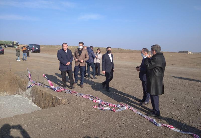 Делегация Тюркского совета, ТЮРКСОЙ и Фонда тюркской культуры и наследия находится в Физули