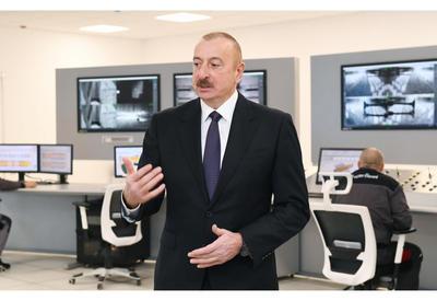 Президент Ильхам Алиев: Восстановление Карабахского региона сегодня занимает особое место в моей деятельности