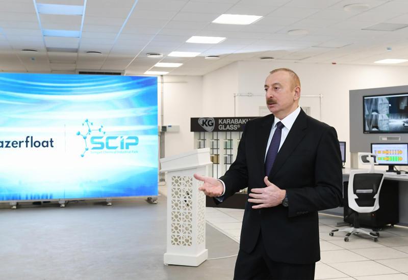 Президент Ильхам Алиев: Война уже закончилась, нагорно-карабахский конфликт также остался в истории