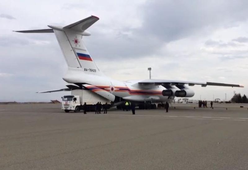 В Азербайджан из России доставлена дополнительная группа пиротехников, техника и оборудование для разминирования