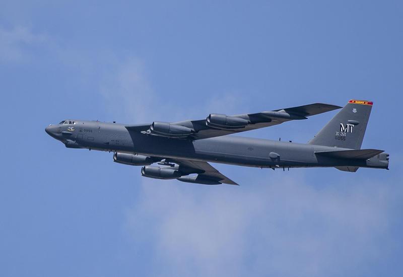 Бомбардировщики США провели полет над Ближним Востоком