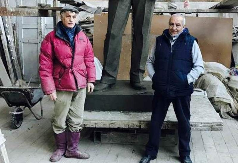 Известные скульпторы рассказали о создании бюстов, возвращенных в Шушу