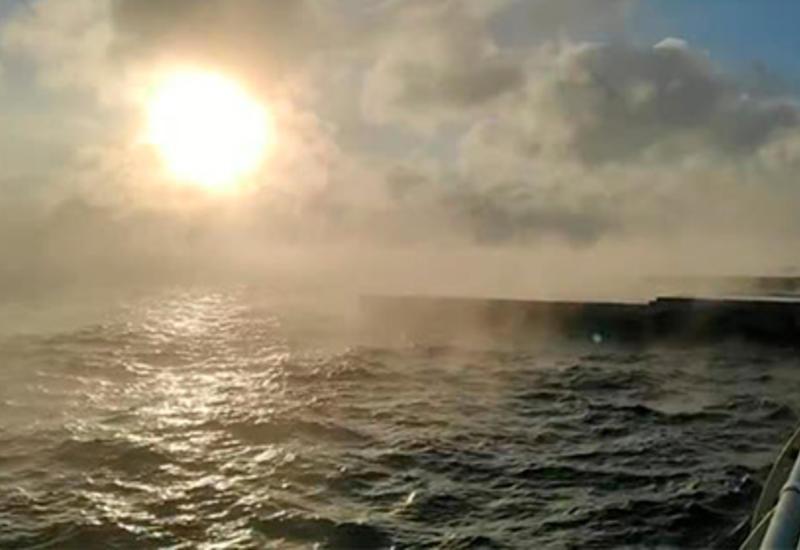 В Одессе «закипело» море