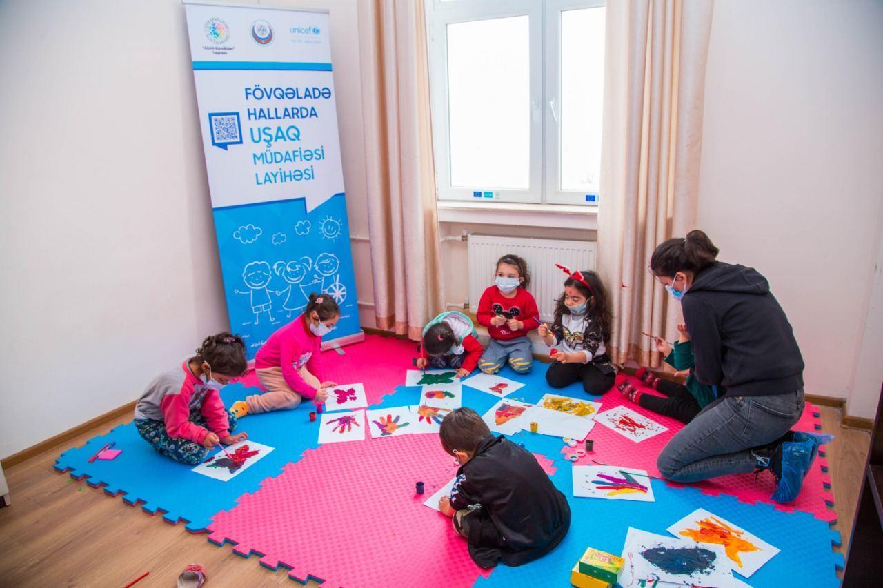 В Азербайджане пострадавшим от войны детям оказана психологическая помощь