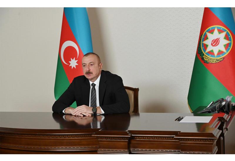 Президент Ильхам Алиев принял в видеоформате генерального секретаря Совета сотрудничества тюркоязычных государств