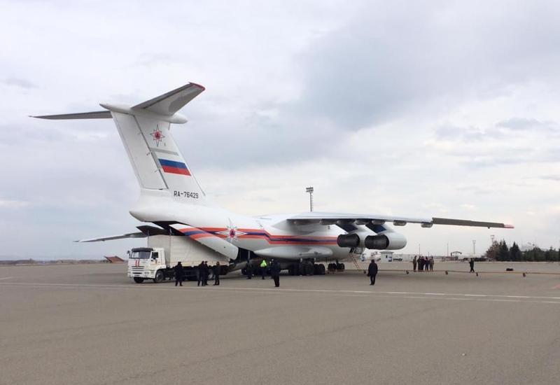 В Азербайджан из России доставлена новая техника для разминирования Карабаха
