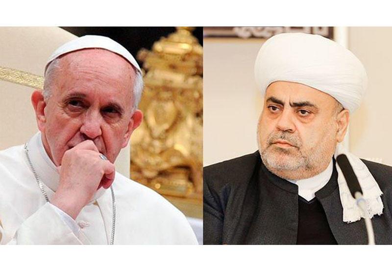 Получен ответ из Ватикана на обращение председателя УМК в связи с Нагорным Карабахом
