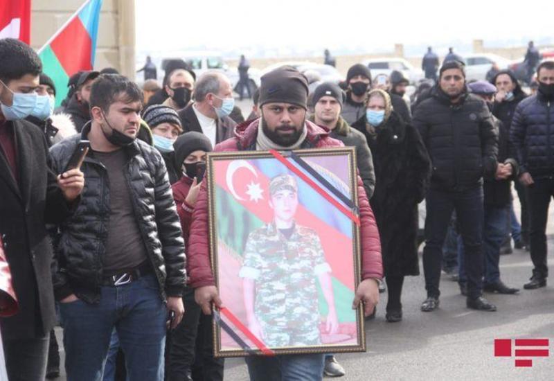 В Гяндже похоронены 2 азербайджанских шехида