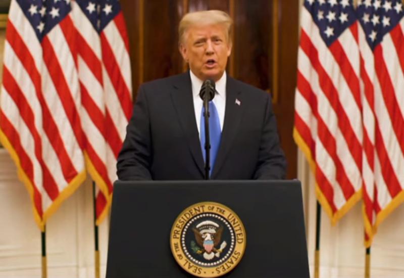 Дональд Трамп прощается с нацией