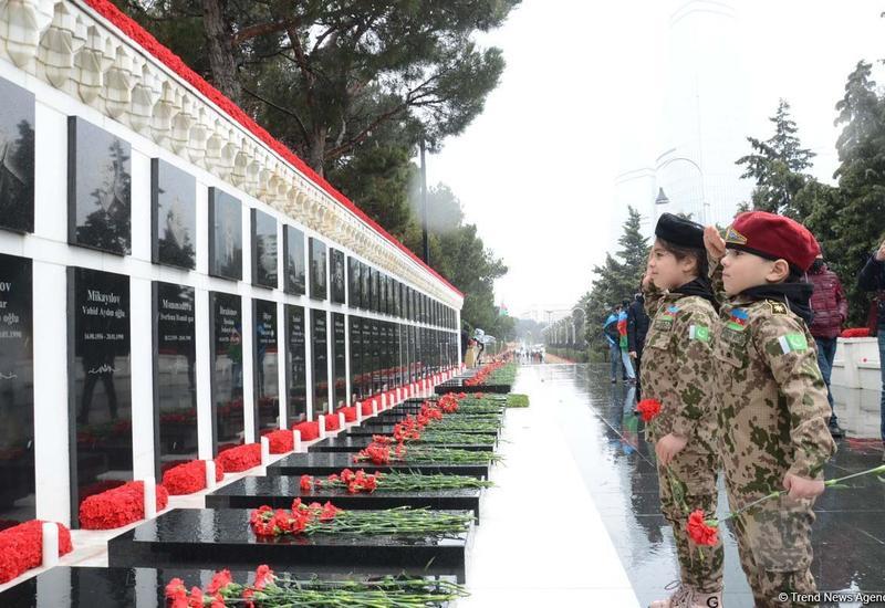 Дети провели в соцсетях поэтический флешмоб в честь памяти шехидов 20 Января и Карабахской войны