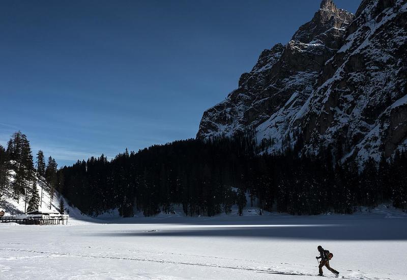 Лыжные склоны Альп пустуют