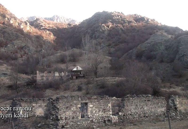 Минобороны показало еще одно село Кельбаджарского района