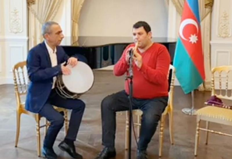 В Париже прошел концерт в память о шехидах 20 Января и Карабахской войны