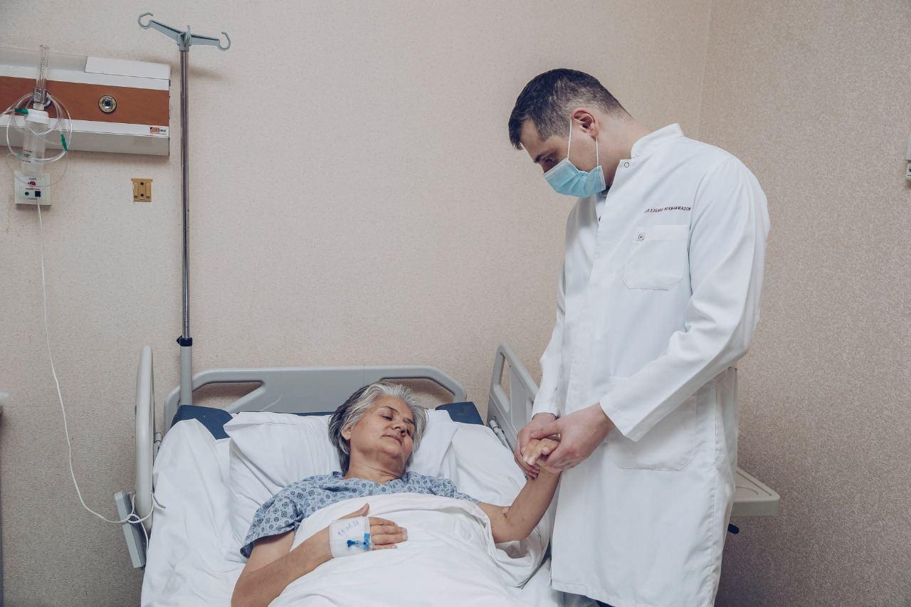 """Фонд """"YAŞAT"""" организовал медобследование раненых и членов семей шехидов"""