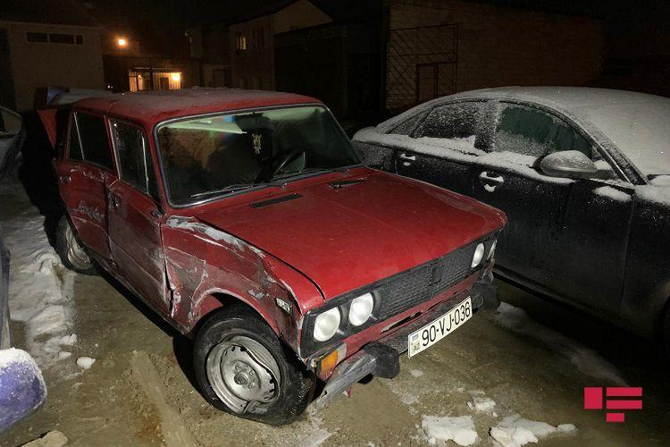 В Баку столкнулись 11 автомобилей, есть пострадавшие