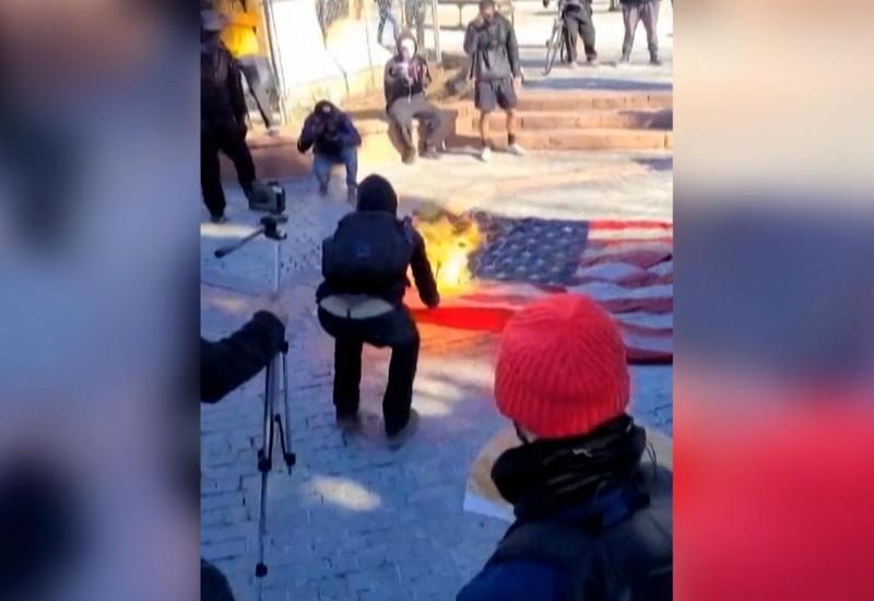 В нескольких городах США прошли акции протеста