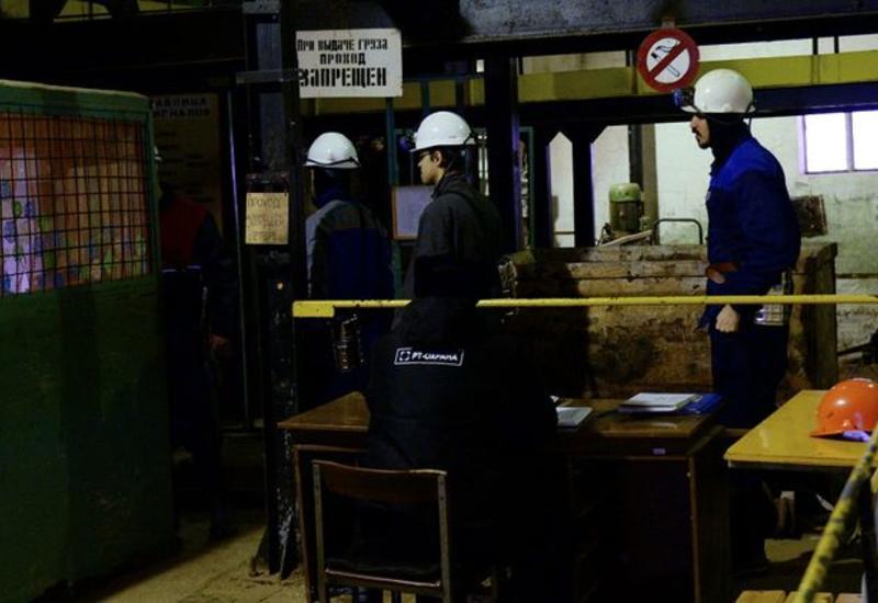 В России обрушилась угольная шахта,