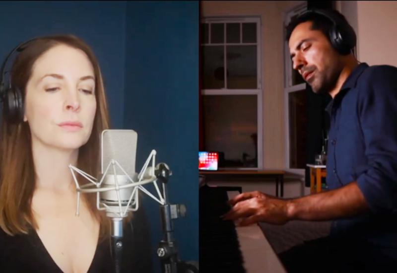 Шотландская певица и заслуженный артист Азербайджана представили совместный музыкальный проект