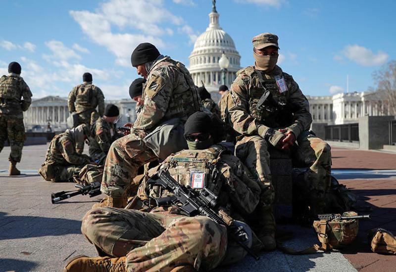 Сотни нацгвардейцев заболели COVID после беспорядков в Вашингтоне