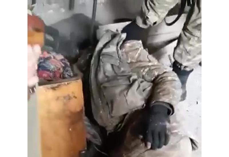 Азербайджанские военнослужащие оказали помощь армянскому солдату